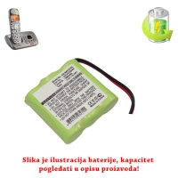 Baterija za bežični telefon 3x2/3AAA 300mAh NiMh