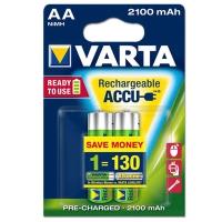 Varta AA,HR6 punjiva baterija ready2use 2100mAh 1kom