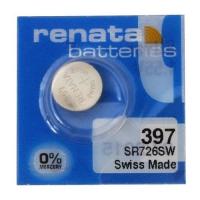 Renata 397,AG2,LR726,SR726 1.55V srebro oksid baterija