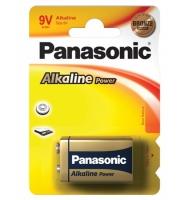Panasonic 9V 6LR61 bronze alkalna baterija