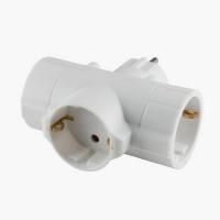 220V strujni razdelnik lopov 3 šuko utičnice beli