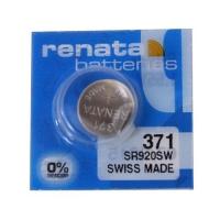 Renata 371,AG6 1.55V srebro oksid baterija