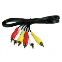 Audio video činč RCA kabel 3 činča-M na 3 činča-M