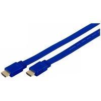 HDMI kabel, verzija 2.0, pljosnati, 3D, 4K, Ethernet, 5 metara