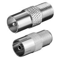Set konektora F na RF, metalni