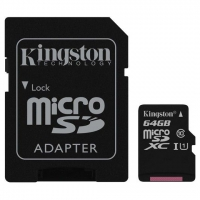 Memorijska kartica Kingston UHS-I micro SDHC 64GB 80mb/s class10