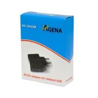 AC/DC USB ispravljač 5V 1A 230V AG-105