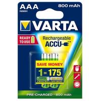 Varta AAA,HR3 punjiva baterija ready2use 800mAh 1kom